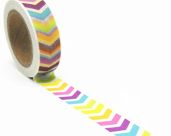 Washi Tape Setas Coloridas - 10m