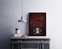 "Placa decorativa ""101 Dalmatians"""