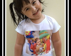 Camiseta Infantil Tema Personagens