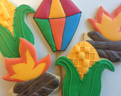 Biscoito Decorado Festa Junina