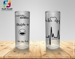 Copos Long Drink - Medicina