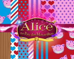 Kit Scrapbook Alice