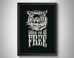 "Quadro ""Burn To Be Free"""