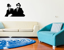 Adesivo Parede Blues Brothers 21x30cm