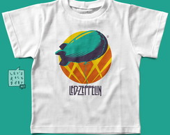 Camiseta infantil Rock, Led Zeppelin, Br