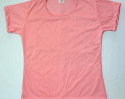 825ca3854b Camiseta poliester lisa coloridas no Elo7