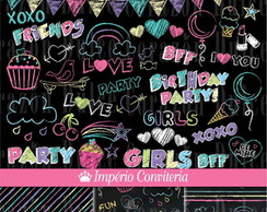 Kit Digital Scrapbook Chalkboard 4