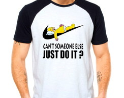 Camiseta Homer Simpson Just Do It Later