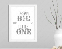 Quadro dream big little one cód: 1192