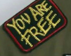 You are free Patch Termocolante