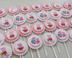 Toppers Pequenos Peppa Pig