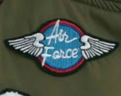 Air Force Patch Termocolante