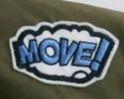 Move! Patch Termocolante