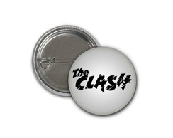 Botton The Clash - 2,5cm