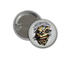 Botton Iron Maiden - 2,5cm