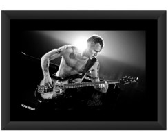 Quadro Red Hot Chili Peppers Flea Rock 2