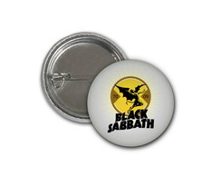 Botton Black Sabbath - 2,5cm