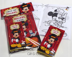 Kit Colorir - Circo do Mickey