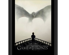 Quadro Game of Thrones Dragao Serieado