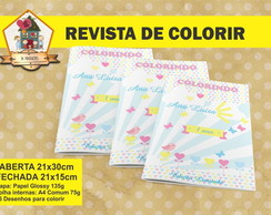 Revista Para Colorir RAIO DO SOL