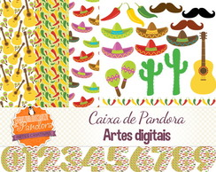 Kit Scrapbook Digital - Mexicano