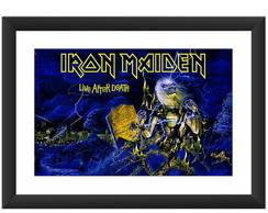 Quadro Iron Maiden Live After Death Rock