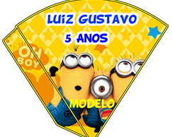 Cone Para Doces - Minions