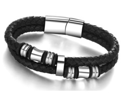 Pulseira Jr Men Rocker Silver