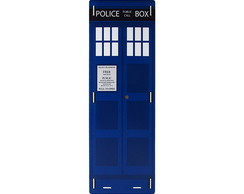 Porta Guarda Chuvas Police Box