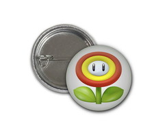 Botton Flor - Super Mario - 2,5cm