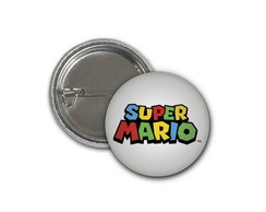 Botton Super Mario - 2,5cm