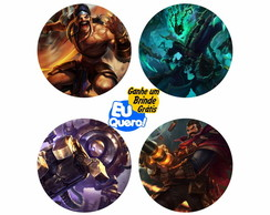 Porta - Copos - League of Legends 2