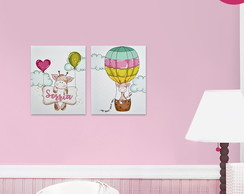 Kit 02 Placas Decorativas Infantil