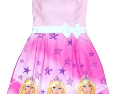 Vestido Barbie Rosa Adulto