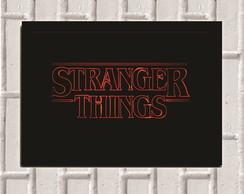 Poster com Moldura Stranger Things 5