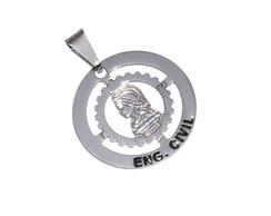 Pingente Engenharia Civil No Niquel   Elo7 53de137627