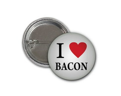 Botton I Love Bacon - 2,5cm