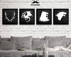Coleção Houses Game Of Thrones