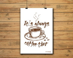 POSTER - COFFEE TIME