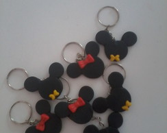 Chaveiros Mickey e Minnie