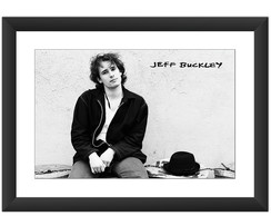 Quadro Jeff Buckley Grace Banda Rock 90