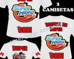 CAMISETA SUPER HERO GIRLS