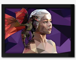 Quadro Game Of Thrones Daenerys