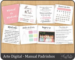 Manual dos Padrinhos - Arte Digital