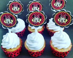 Mini Cupcake Tag Minnie