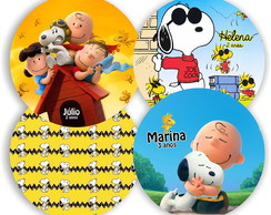 Mini Sousplat Snoopy Charlie Brown