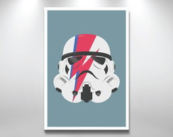 Placa Decorativa Star Wars stormtrooper
