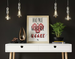 Quadro - Home is where your heart is