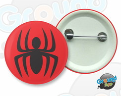 Botton 3,5 - Buton Spider Man Aranha