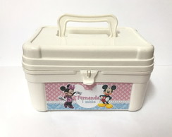 Kit Maletinha Minnie Mickey.